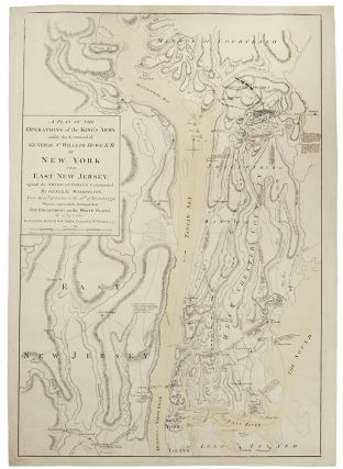 A Plan of the Operations of the Kings Army Under the Command of General Sr. William Howe, K.B. in...
