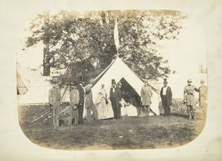 Sketches of Camp Boone. The First Encampment of the Kentucky State Guard; held near Louisville,...