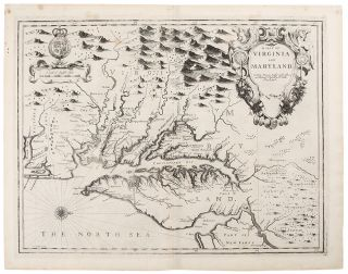 A Map of Virginia and Maryland. John SPEED, c