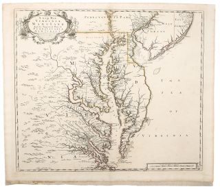 A New Map of Virginia Mary:Land and the Improved Parts of Pennsylvania & New Jersey. John SENEX