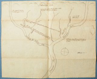 Archive of over seventy manuscript documents and maps principally relating to the Walking Purchase