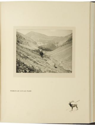 Hunting with Rifle and Camera in the Canadian Rockies [cover title]. Joseph A. McALEENAN.