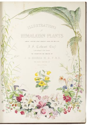 Illustrations of Himalayan Plants, chiefly selected from drawings made for the late J.F.Cathcart Esq. of the Bengal Civil Service