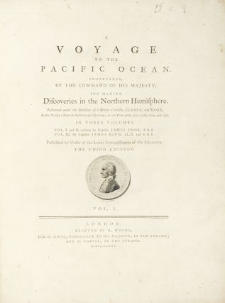 A Voyage to the Pacific Ocean, for making Discoveries in the Northern Hemisphere. Performed under the Direction of Captains Cook, Clerke, and Gore, in His Majesty's Ships the Resolution and Discovery; in the Years 1776, 1777, 1778, 1779, and 1780