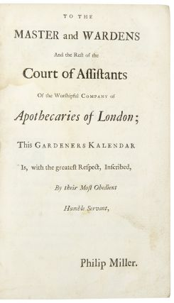 The Gardeners Kalendar, Directing what Works are necessary to be done every month, in the Kitchen, Fruit and Pleasure Gardens, and in the Conservatory ... the Third Edition