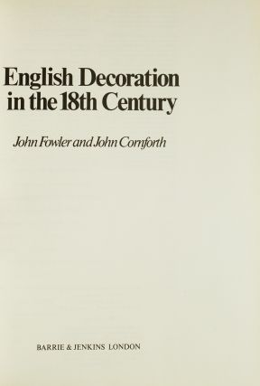 Collection of 26 Volumes on Decorative arts including: Les Maitres Ebenistes français au XVIIIe siècle; Three Centuries of Furniture in Color by H.D. Molesworth And John Kenworthy-Browne; English Decoration in the XVIII Century; French Cabinetmakers in the Eighteenth Century; etc.