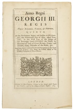 The Stamp Act]. AMERICAN REVOLUTION, Act of Parliament - Great Britain
