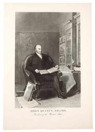 John Quincy Adams, President of the United States. Asher B. DURAND, after Thomas SULLY