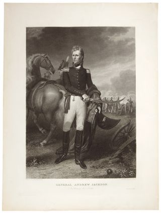General Andrew Jackson. New Orleans Jany. 8th 1815. Asher B. DURAND, after John Vanderlyn