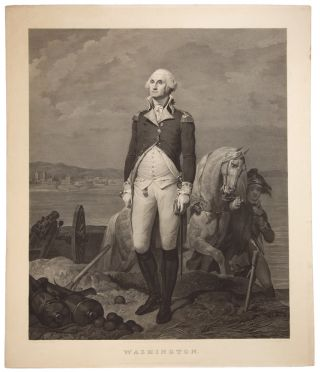 Washington. Jean Nicolas LAUGIER, after Leon COGNIET