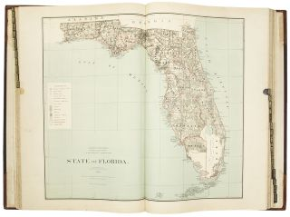 Atlas of the states and territories over which land surveys have been extended [label on upper cover]