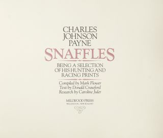 Snaffles. Being a Selection of his Hunting and Racing Prints