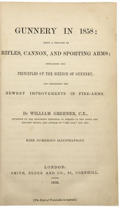 Gunnery in 1858. William GREENER.