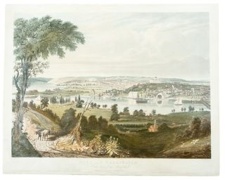 City of Washington From beyond the Navy Yard. William James BENNETT, engraver, c