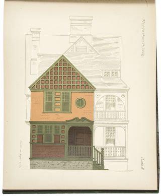 Modern House Painting containing Twenty Colored Lithographic Plates, Exhibiting the Use of Color...