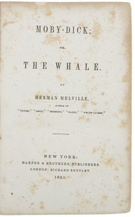 Moby Dick, or, The Whale. Herman MELVILLE