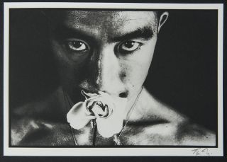 Flowers of Evil. Les Fleurs du Mal. Poems by Charles Baudelaire, translated from the French & with an introduction by John Wood. Photographs and an Afterword by Eikoh Hosoe
