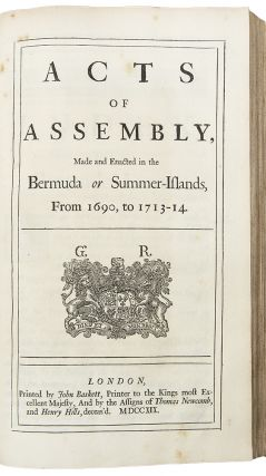 [Six works bound in one, mostly concerning the English colonies in America]