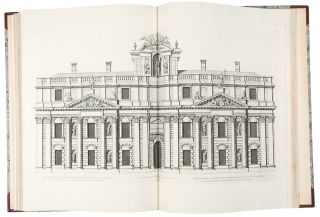 Vitruvius Britannicus, or The British Architect. Containing the plans, elevations and sections of the regular buildings, both publick and private, in Great Britain