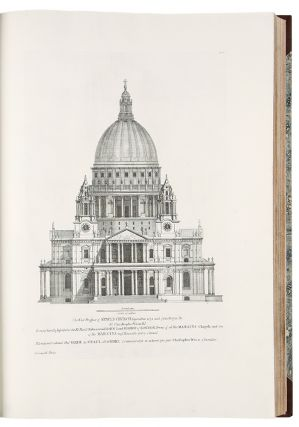 Vitruvius Britannicus, or The British Architect. Containing the plans, elevations and sections of...