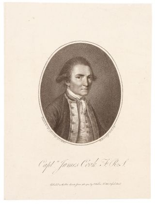 [Pair of separately-issued, stipple-engraved portraits of Captain James Cook and Captain James King, engraved by Bartolozzi after Webber]