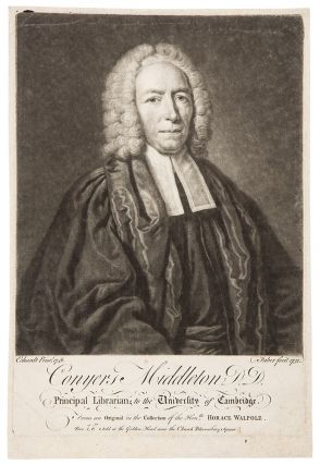 Conyers Middleton, D.D. Principal Librarian to the University of Cambridge. From an Original in...