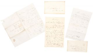 Archive of three autograph letters signed from George Catlin to Captain William Shippard]. George...