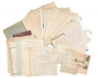 An archive of letters written to George Frederick Kunz, largely on gemological matters]. George...