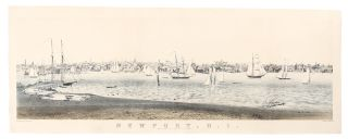 Newport, R. I. View from Fort Wolcott Goat Island. John Perry NEWELL