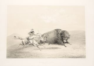 Catlin's North American Indian Portfolio. Hunting Scenes and Amusements of the Rocky Mountains and Prairies of America
