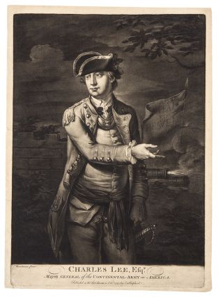 Charles Lee, Esqr. Major General of the Continental-Army in America. C. CORBUTT, after...