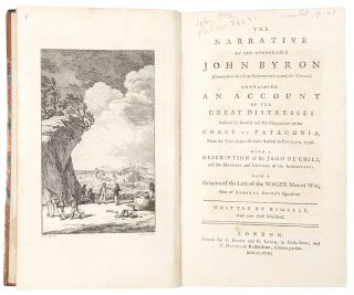The Narrative of the Honourable John Byron (Commodore in a late expedition round the world)...