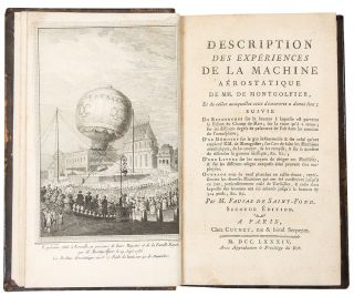 Description des Experiences de la Machine Aerostatique de MM. de Montgolfier ... Seconde Edition....