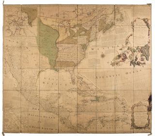 An Accurate Map of North America describing ... The British, Spanish and French Dominions ......