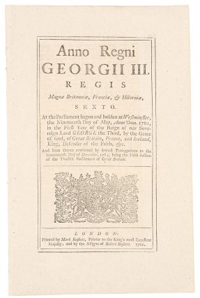[The Stamp Act] ... An Act for granting and applying certain Stamp Duties, and other Suties, in the British Colonies and Plantations in America