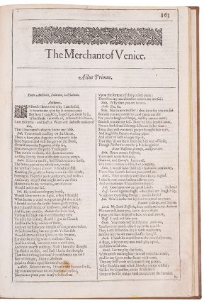 The Merchant of Venice. William SHAKESPEARE