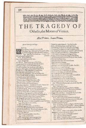 The Tragedie of King Lear ... [Bound with:] The Tragedy of Othello ... [and with:] The Tragedy of Anthony and Cleopatra