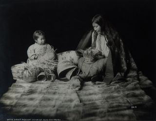 [Group of 10 photographs of natives, art and landscape of the Alaska panhandle]
