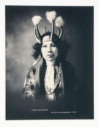 Group of 10 photographs of natives, art and landscape of the Alaska panhandle]. CASE,...
