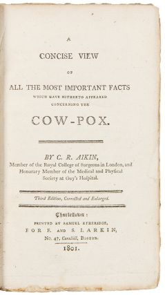 A Concise View of All the Most Important Facts which have hitherto appeared concerning the...
