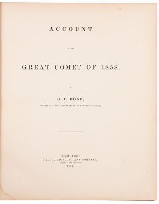 Account of the Great Comet