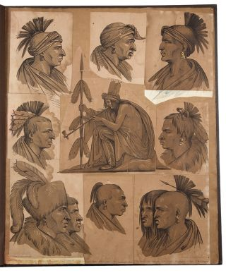Portraits of Distinguished Indians from Several Tribes, who visited Washington in 1837; also a...