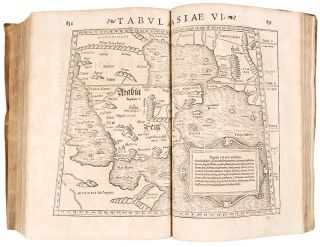 Rerum geographicarum libri septemdecim. STRABO - Translated and, Guilielmus Xylander, 64/63 B....