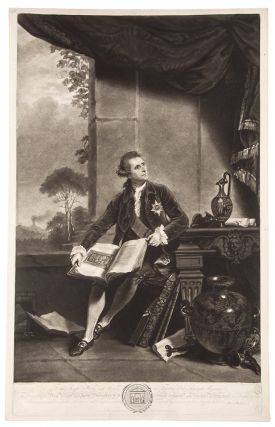 The Honble Sir William Hamilton KB. Sir Joshua after REYNOLDS, H. Hudson