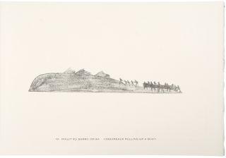 Drawings by Enooesweetok of the Sikosilingmint Tribe of Eskimo, Fox Land, Baffin Island