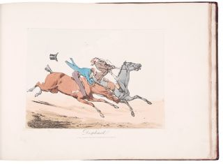 Specimens of Riding Near London, Drawn from Life. Henry ALKEN