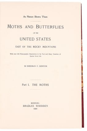 Moths and butterflies of the United States East of the Rocky Mountains