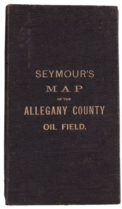 Map of the Allegany County Oil Field