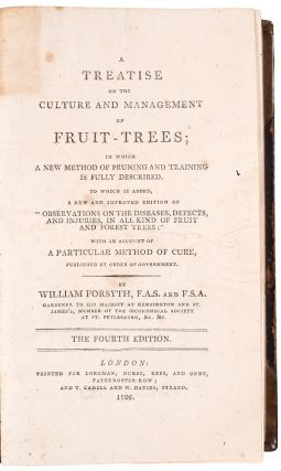 [Early 19th century manuscript diary of an English gardener recording his care of fruit trees and grapes]