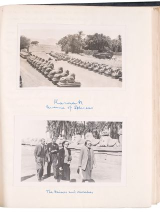 [Archive of photographically-illustrated typescript memoirs of travels in Africa before, during and after World War II]